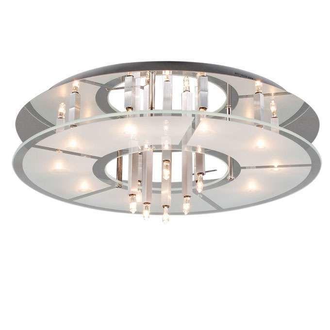 Φωτιστικό-οροφής-Circle-16-chrome