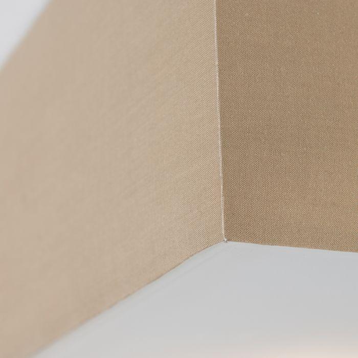Μοντέρνο-τετράγωνο-φωτιστικό-οροφής-μπεζ-35cm---Drum