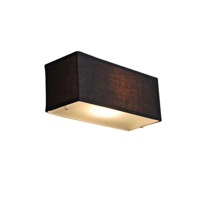Φωτιστικό-ταμπλό-μαύρο-ορθογώνιο