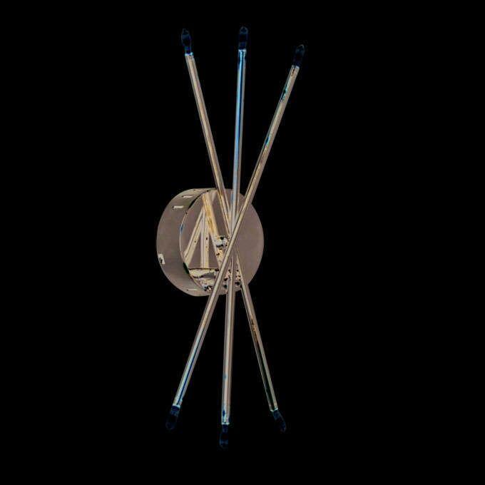 Επιτοίχια-λάμπα-Mikado-6-χρώμιο