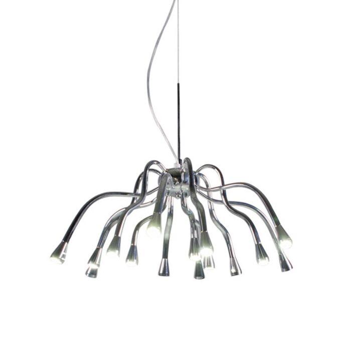 Κρεμαστό-φωτιστικό-Angeline-LED-χρώμιο