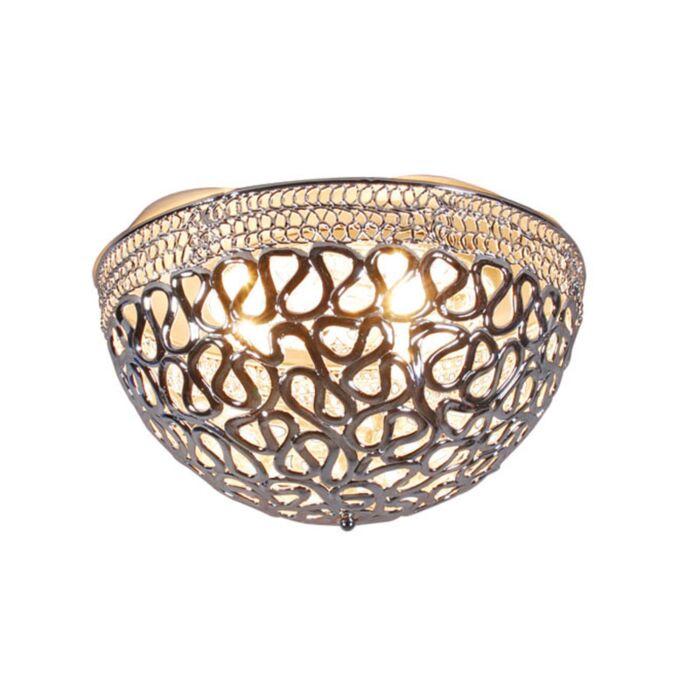 Φωτιστικό-οροφής-Pharaoh-50-χρώμιο