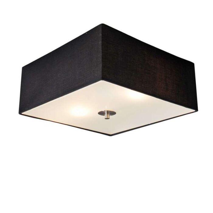 Φωτιστικό-οροφής-Drum-35-τετραγωνικό-μαύρο
