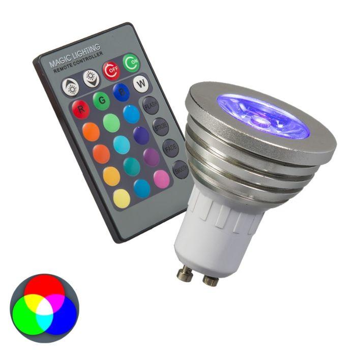 Λάμπα-RGB-GU10-με-τηλεχειριστήριο