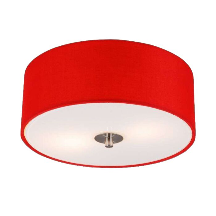 Μοντέρνο-φωτιστικό-οροφής-κόκκινο-30-cm---Τύμπανο