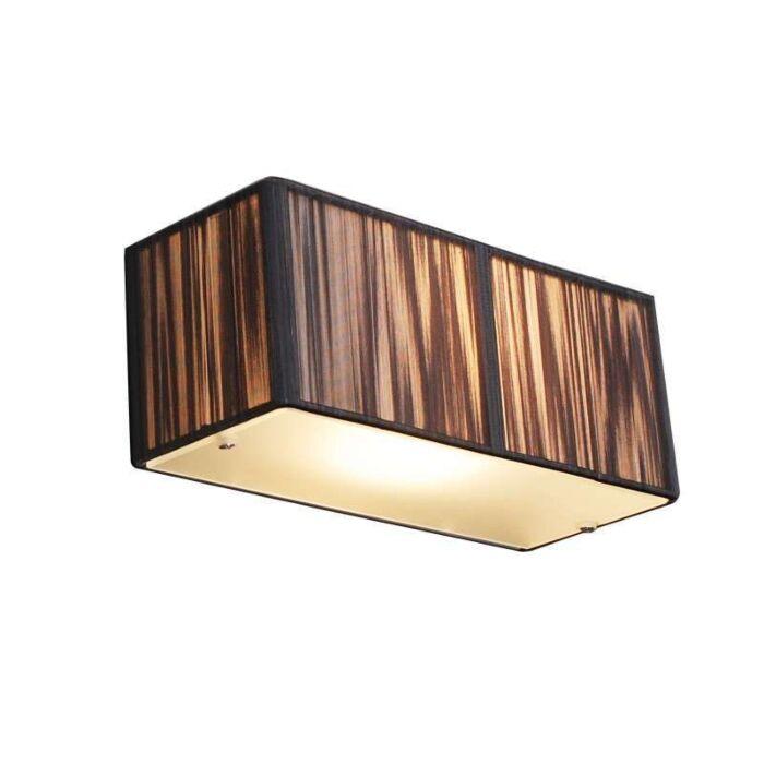 Φωτιστικό-τοίχου-ορθογώνιο-ανθρακί