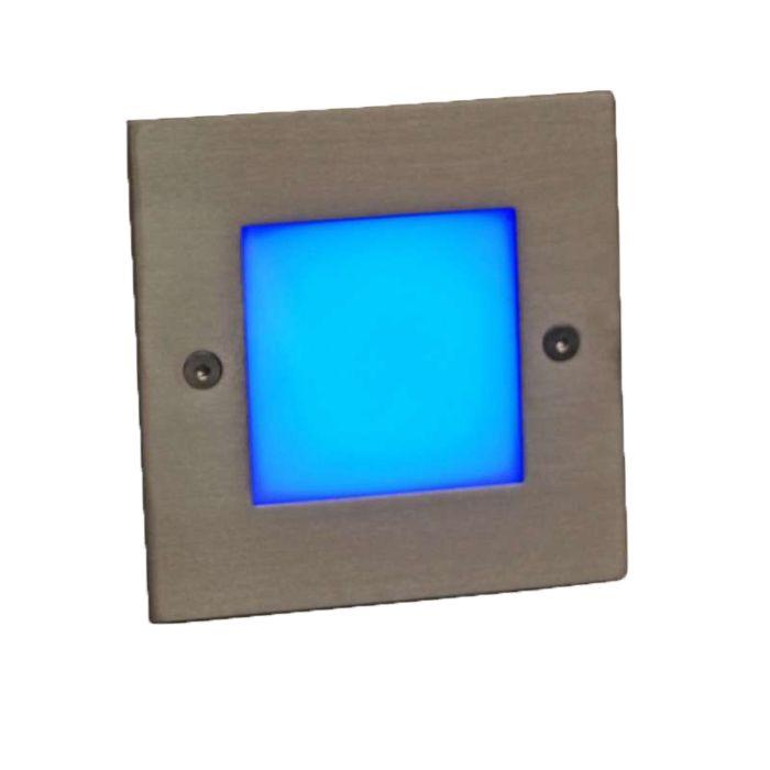 Λυχνία-LED-εσοχής-LEDlite-Square-10-μπλε