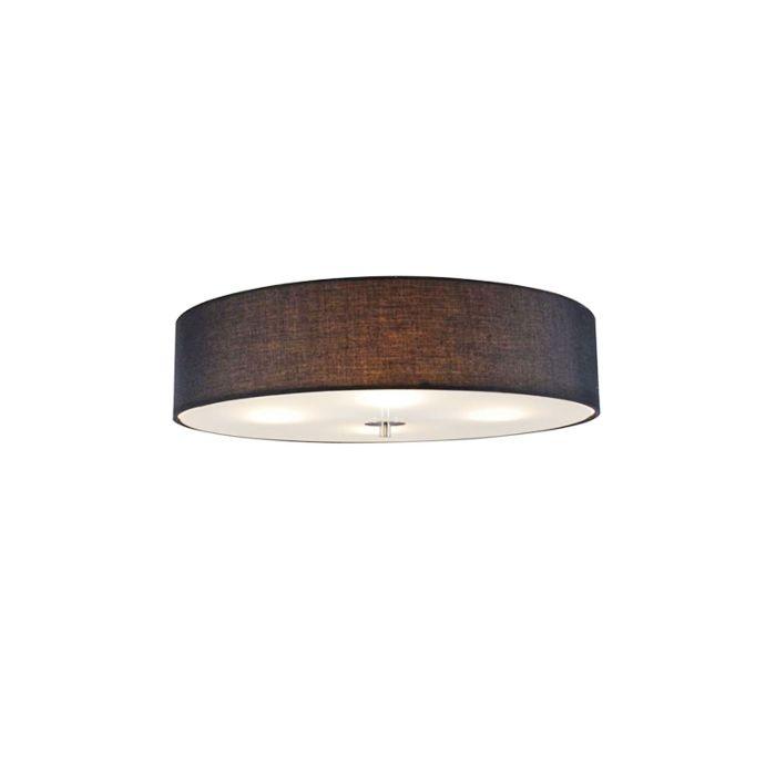 Φωτιστικό-οροφής-μαύρο-50-cm---Τύμπανο