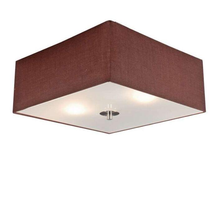 Φωτιστικό-οροφής-Τύμπανο-35-τετραγωνικά-καφέ
