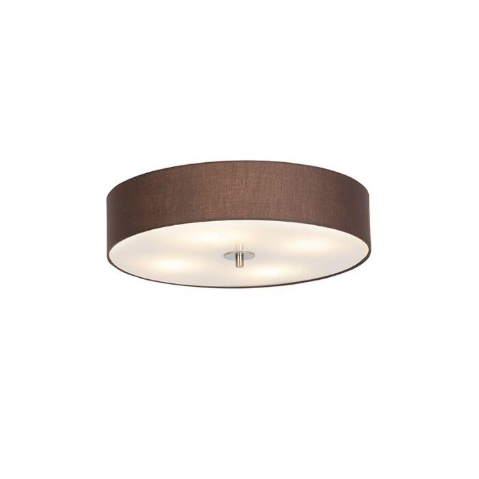 Φωτιστικό-οροφής-καφέ-καφέ-50-cm---Τύμπανο