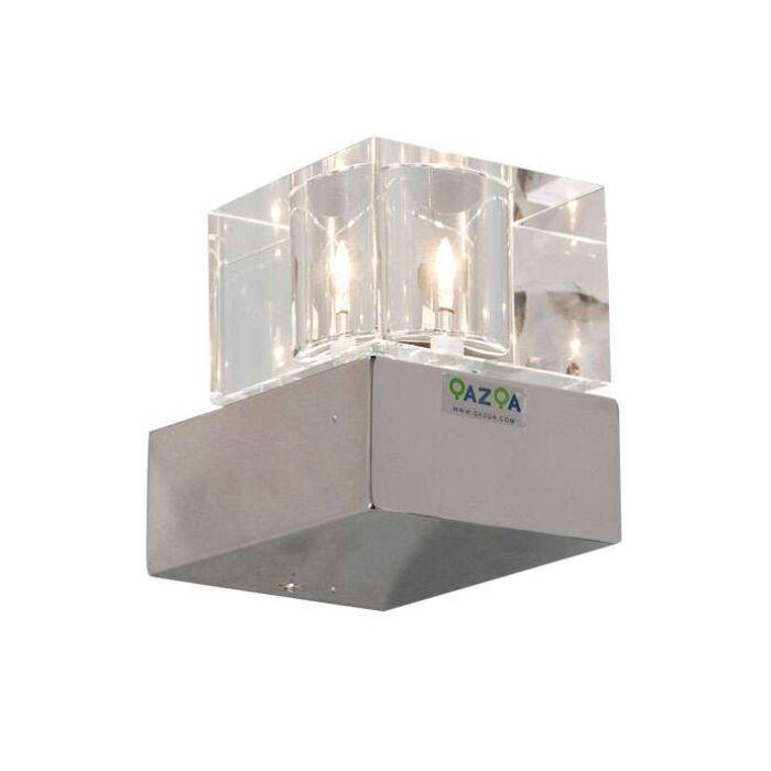 Φωτιστικό-τοίχου-Dice-1-χρώμιο