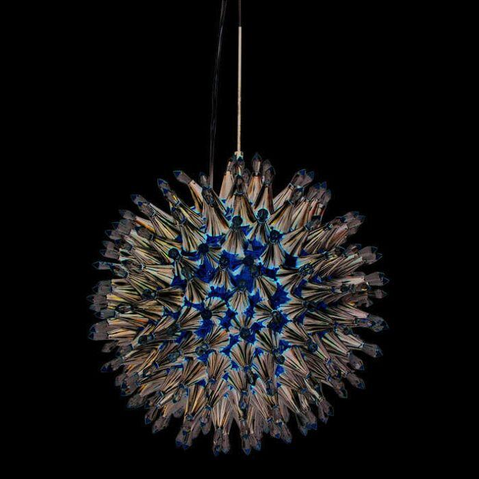Κρεμαστή-λάμπα-Soleil-10-χρώμιο