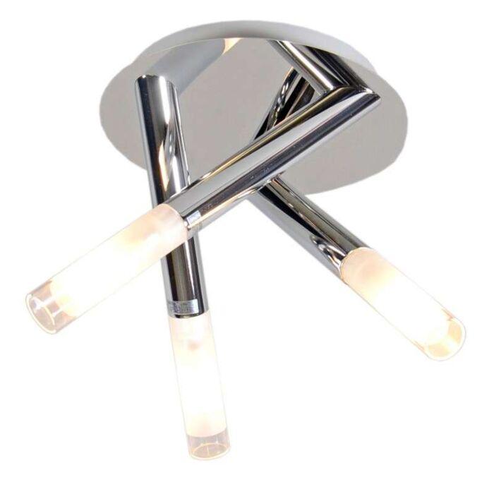Φωτιστικό-οροφής-Pipy-3-χρώμιο