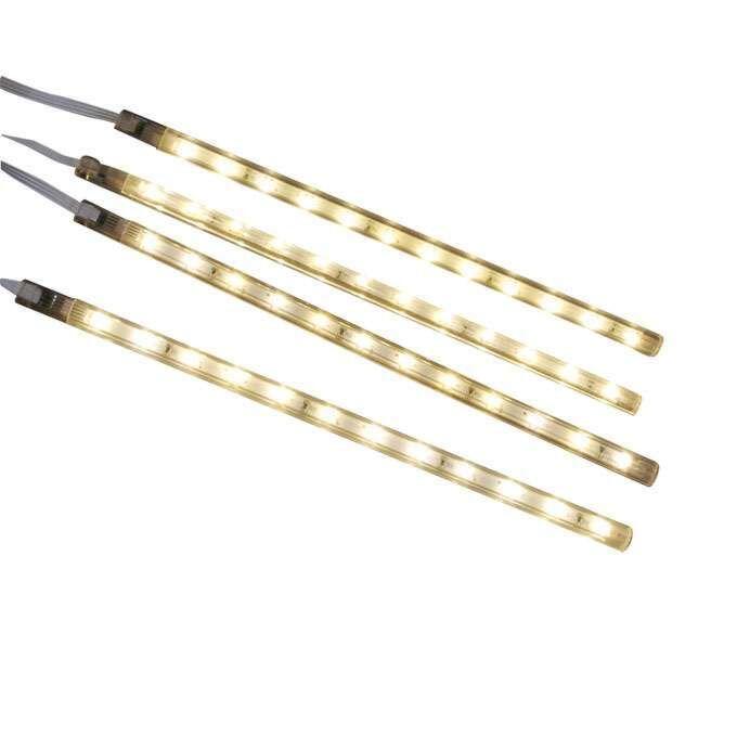 Σετ-τεσσάρων-λωρίδων-LED-ζεστό-λευκό
