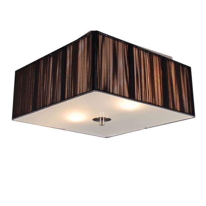 Φωτιστικό-οροφής-Σχοινί-τετράγωνο-35-ανθρακί