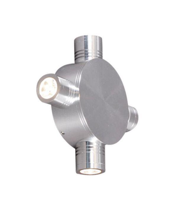 Φωτιστικό-τοίχου-Star-LED-4-αλουμινίου