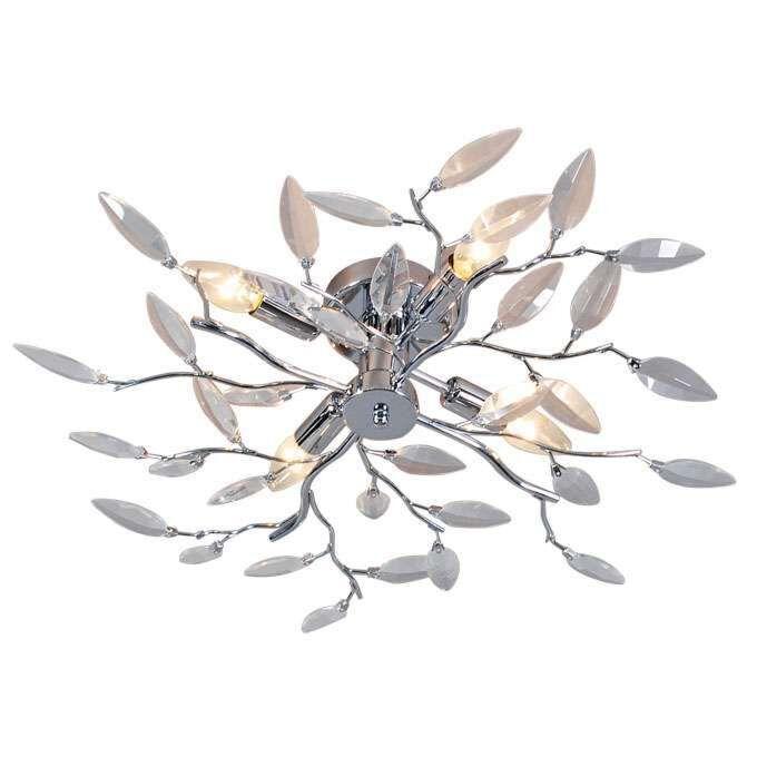 Φωτιστικό-οροφής-Forest-4-Glass-chrome
