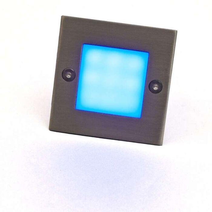 Λυχνία-LED-με-εσοχή-LEDlite-Square-7-μπλε