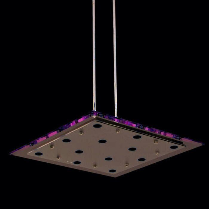 Κρεμαστή-λάμπα-Credo-55-τετραγωνική-διαφανής