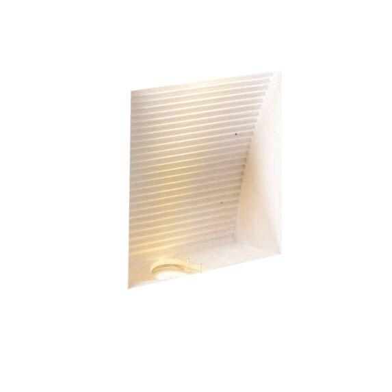 Φωτιστικό-τοίχου-Μηδενικό-τετράγωνο-LED-εσοχή