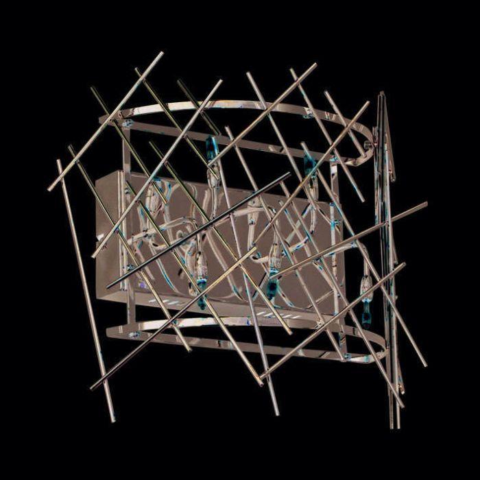 Φωτιστικό-τοίχου-Forest-5-chrome