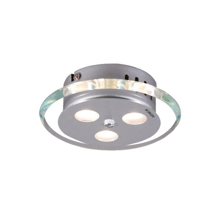 Φωτιστικό-οροφής-Credo-στρογγυλό-19-LED-διαφανές