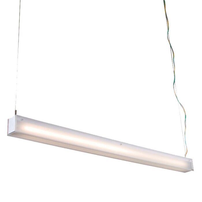 Φωτιστικό-κρεμαστό-σωλήνα-R-λευκό-28W