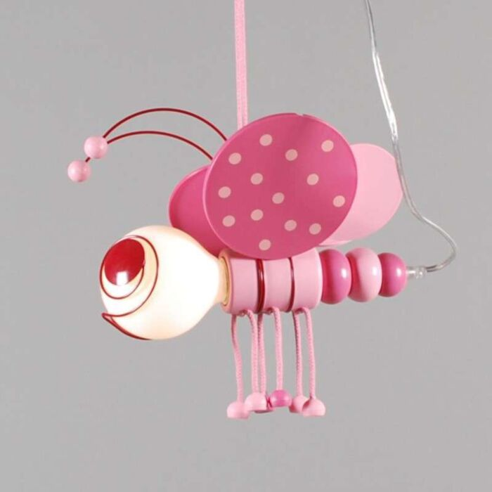 Κρεμαστή-λάμπα-Kids-Bee-Pink