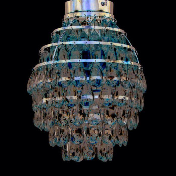 Φωτιστικό-οροφής-Pinecone-χρώμιο
