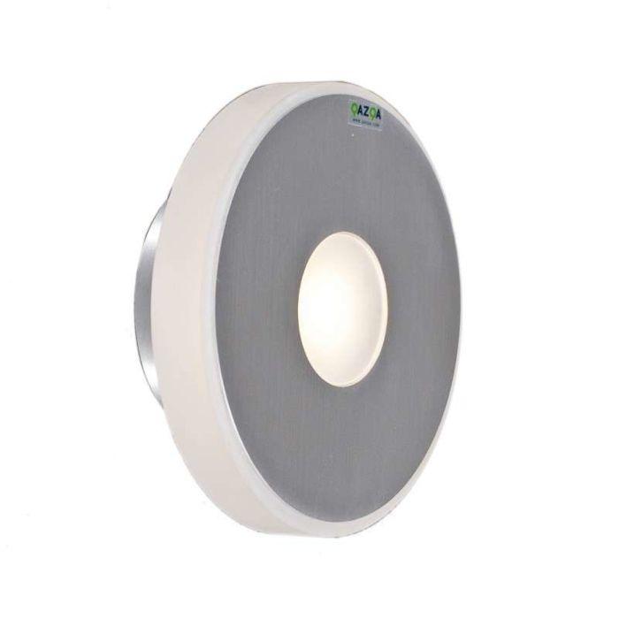 Φωτιστικό-τοίχου-Hana-στρογγυλό-αλουμίνιο-LED