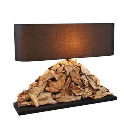 Επιτραπέζιο-φωτιστικό-Raman-Pymia-με-καφέ-απόχρωση