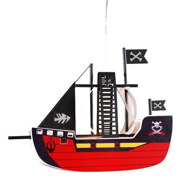 Κρεμαστή-λάμπα-Kids-Pirate-πλοίο