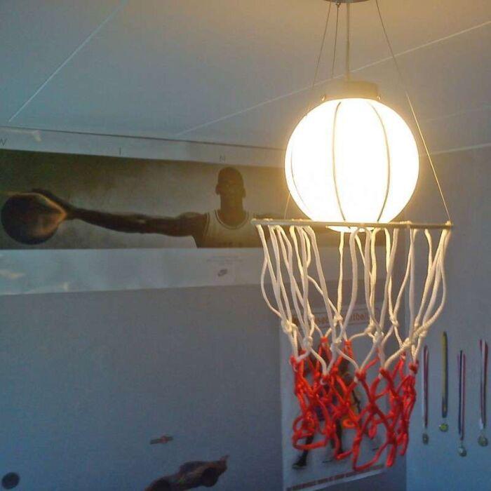 Κρεμαστό-φωτιστικό-Παιδικό-μπάσκετ