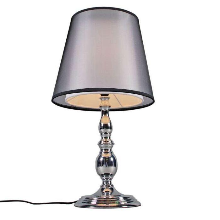 Επιτραπέζιο-φωτιστικό-Μύθος-χρώμιο-με-σκιά