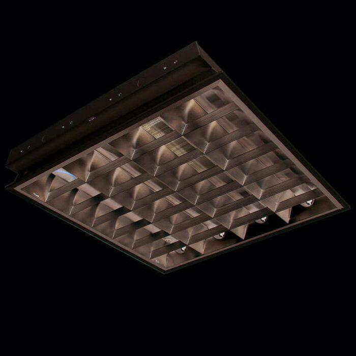 Χωνευτό-φωτιστικό-TL-Louvre-4-x-18W