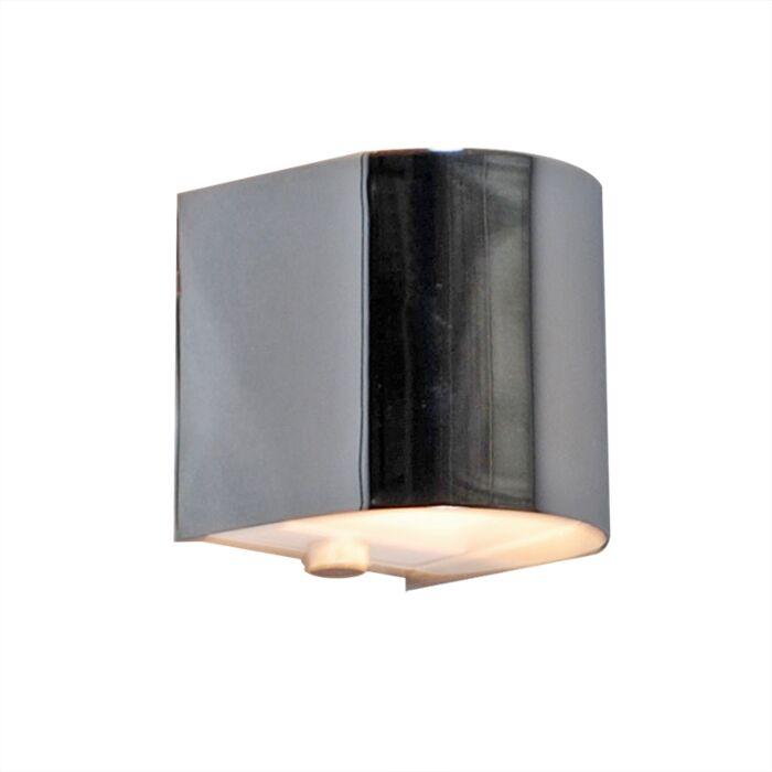 Φωτιστικό-τοίχου-Torci-χρώμιο