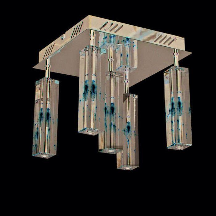 Φωτιστικό-οροφής-Ceres-5-χρώμιο
