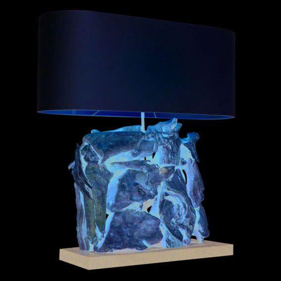 Επιτραπέζιο-φωτιστικό-Raman-Recta-Λευκασμένο-με-σκιά-κρέμας
