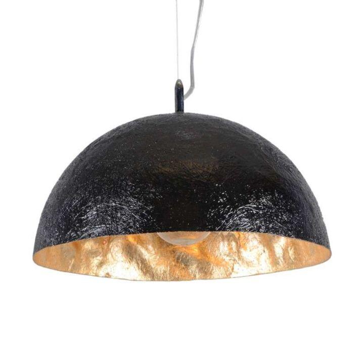 Κρεμαστή-λάμπα-Magna-40-μαύρο---χρυσό