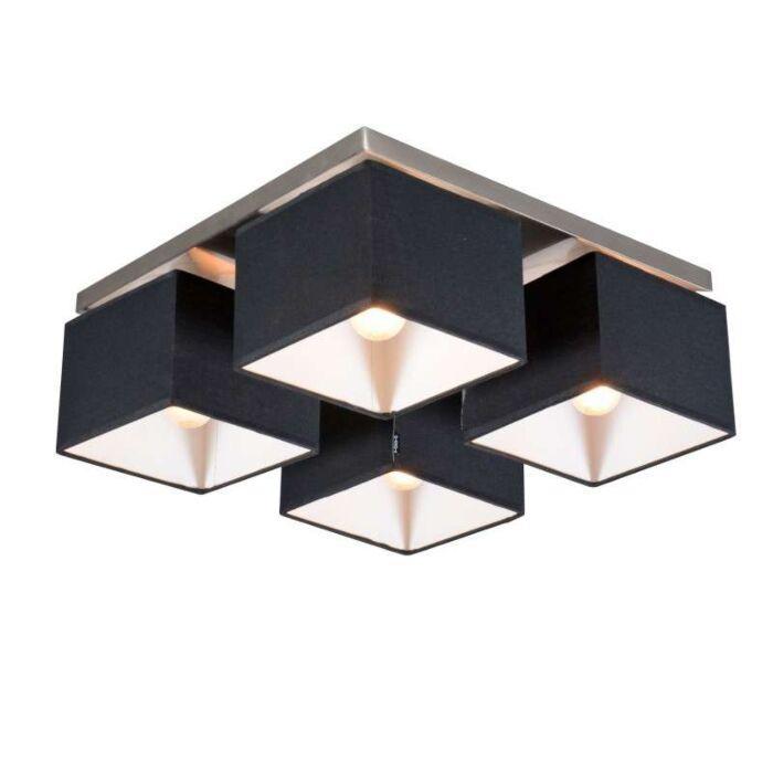 Φωτιστικό-οροφής-VT-4-μαύρο