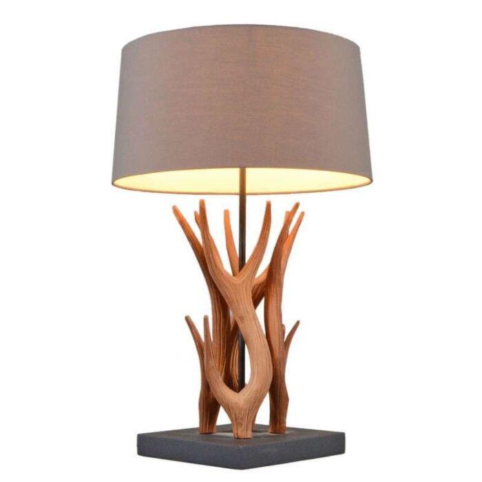 Επιτραπέζιο-φωτιστικό-Yindee-φυσικό-με-καφέ-απόχρωση