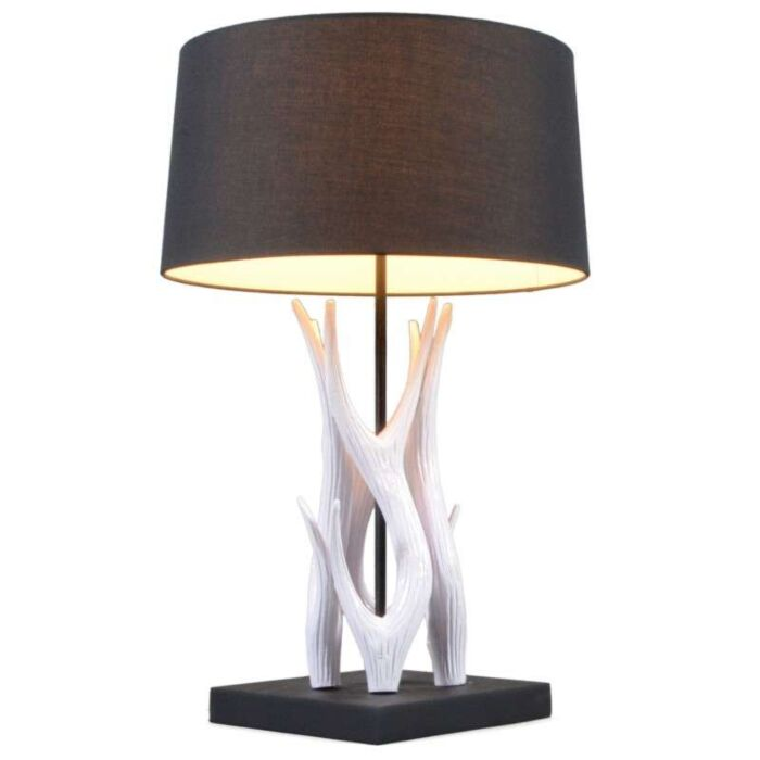 Επιτραπέζιο-φωτιστικό-Yindee-λευκό-με-μαύρο-χρώμα