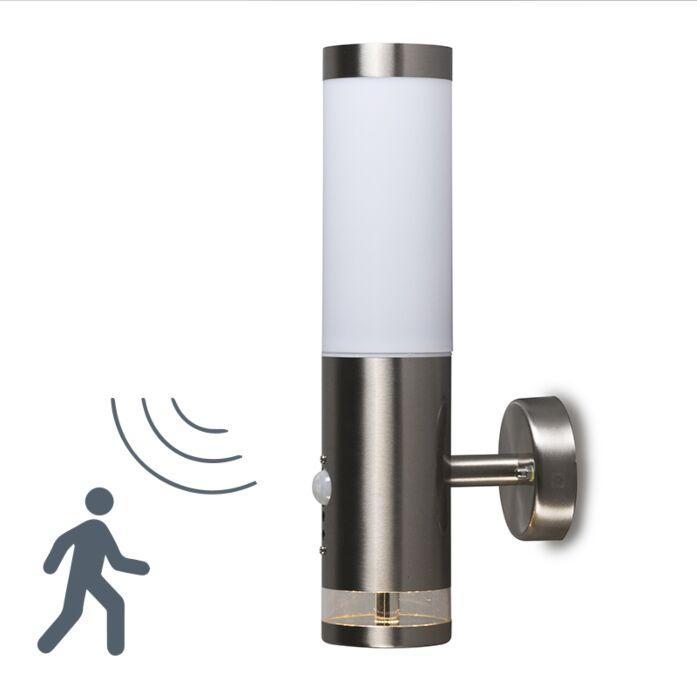 Λάμπα-εξωτερικού-χώρου-Rox-wall-Lux-LED-IR-sensor
