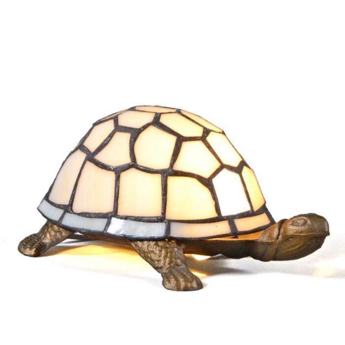 Επιτραπέζια-λάμπα-Tiffany-Χελώνα