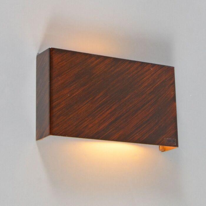 Φωτιστικό-τοίχου-Otan-καφέ-σκουριά