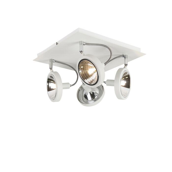 Σχεδίαση-σποτ-λευκό-ρυθμιζόμενο-4-φως---Nox