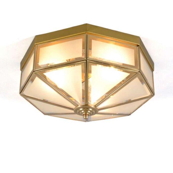 Φωτιστικό-οροφής-Newfield-3-χάλκινο