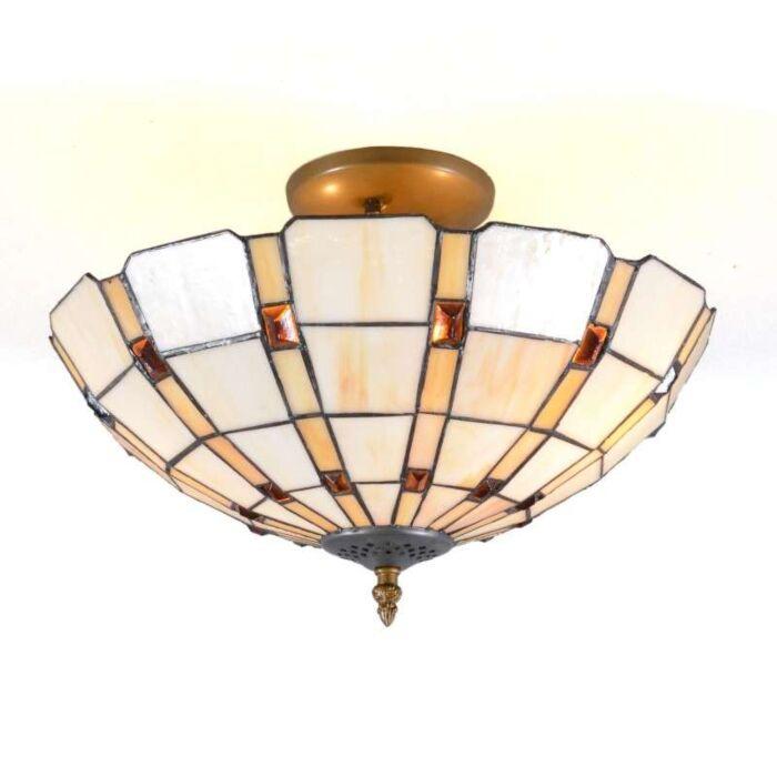 Φωτιστικό-οροφής-Tiffany-Liddesdale