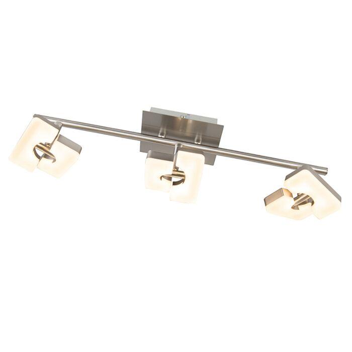 Μοντέρνος-χαλύβδινος-ρυθμιζόμενος,-συμπεριλαμβανομένων-LED---Twin-3