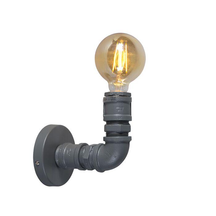 Βιομηχανική-λάμπα-τοίχου-σκούρο-γκρι---Υδραυλικός-1